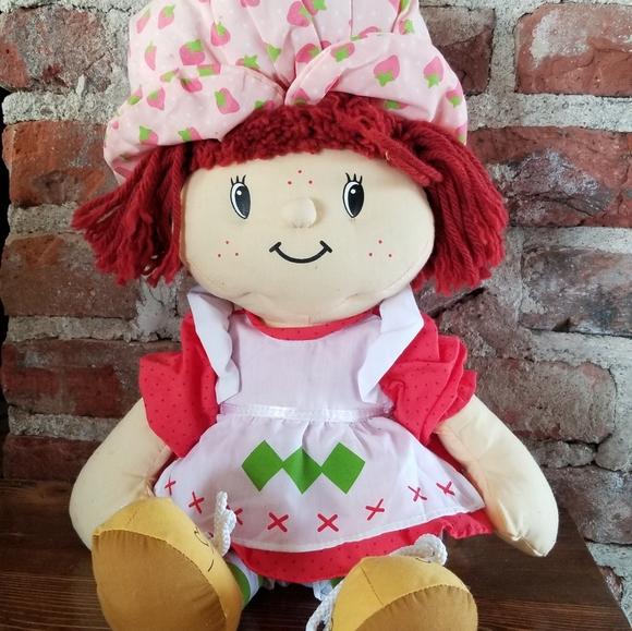 Strawberry Shortcake Toys Vintage Plush Doll 8 Poshmark